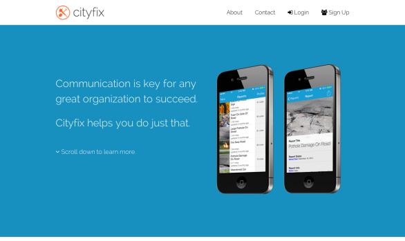 Cityfix App
